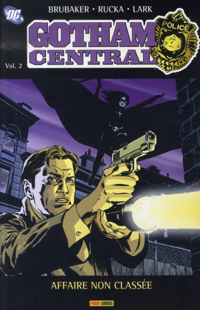 Couverture gotham central tome 2 - affaire non classée