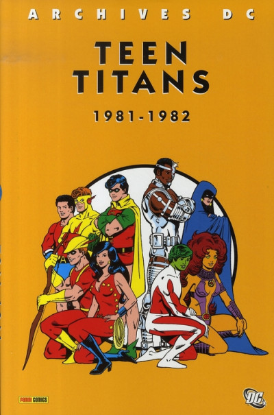 Couverture teen titans tome 2