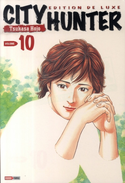 Couverture city hunter tome 10