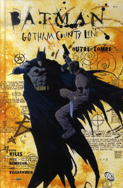 Couverture batman ; gotham county line ; outre-tombe