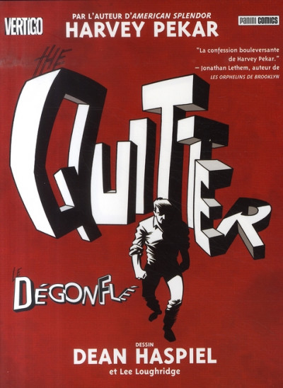 Couverture the quitter