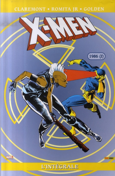 Couverture x-men - intégrale - 1986 tome 1