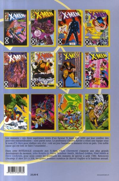 Dos x-men - intégrale - 1986 tome 1