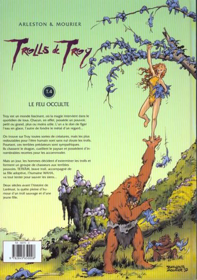 Dos trolls de troy tome 4 - le feu occulte