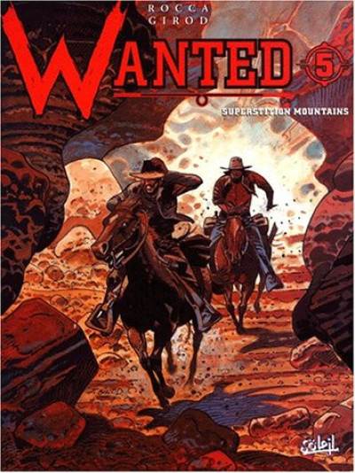 Couverture wanted tome 5 - superstition mountains