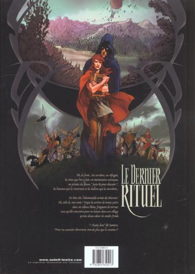 Dos Le dernier rituel tome 1 - la prophétie des amants