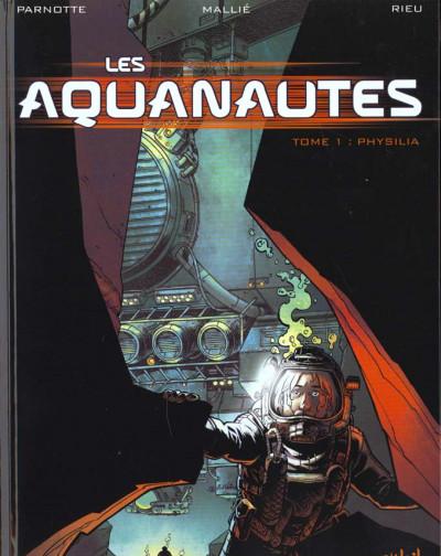 Couverture les aquanautes tome 1 - physalia