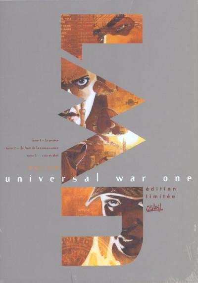 Couverture Universal war one - coffret tomes 1 à 3