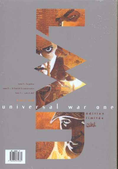 Dos Universal war one - coffret tomes 1 à 3