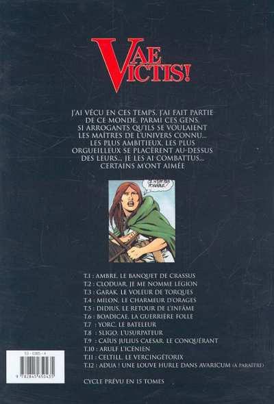 Dos vae victis tome 11 - celtill le vercingetorix