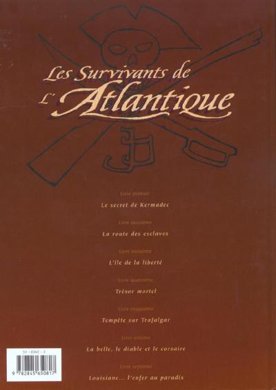Dos les survivants de l'atlantique tome 7 - louisiane