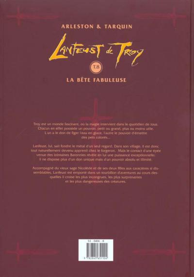 Dos Lanfeust de troy tome 8 - la bête fabuleuse
