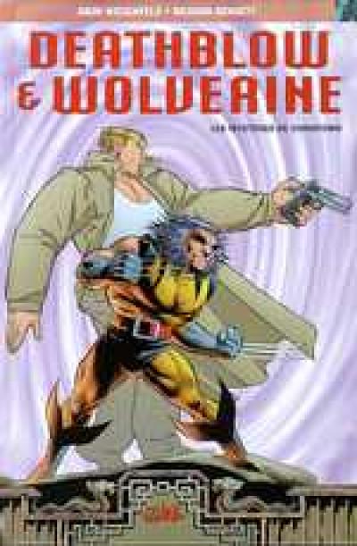 Couverture Deathblow et Wolverine - les mystères de chinatown