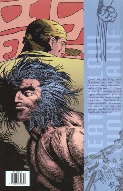 Dos Deathblow et Wolverine - les mystères de chinatown