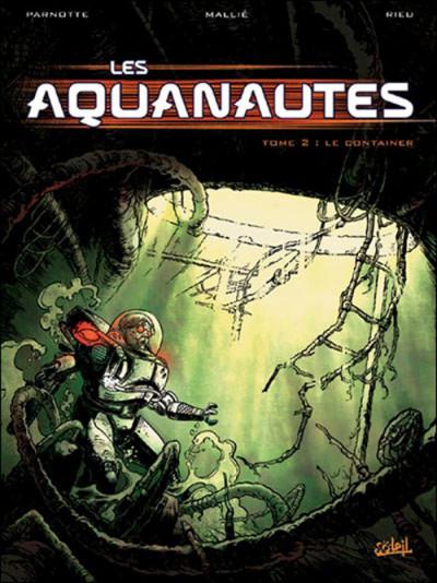 Couverture les aquanautes tome 2 - le container