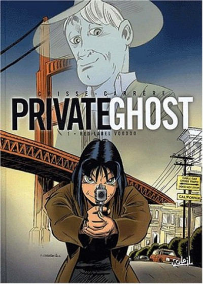Couverture private ghost tome 1 - red label voodoo