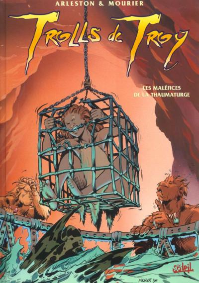 Couverture trolls de troy tome 5 - les malefices de la thaumaturge