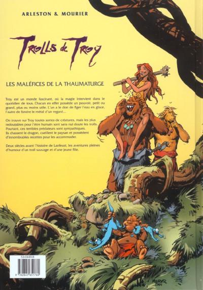 Dos trolls de troy tome 5 - les malefices de la thaumaturge