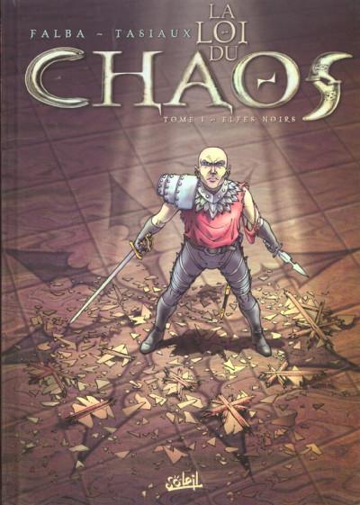 Couverture la loi du chaos tome 1 - elfes noirs