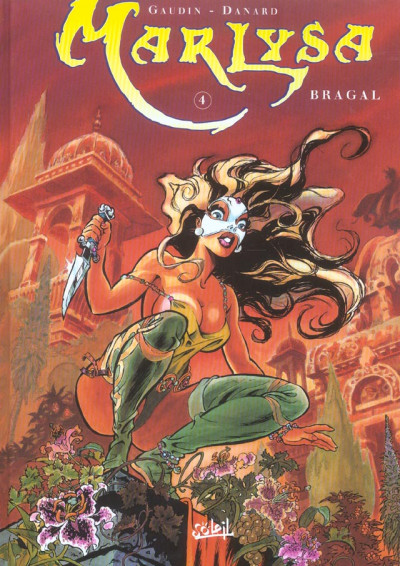 Couverture marlysa tome 4 - bragal