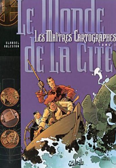 Couverture Les maîtres cartographes tome 1