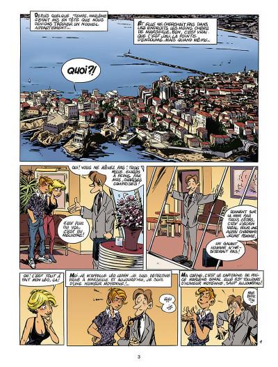 Page 4 léo loden tome 14 - calissons et lumières
