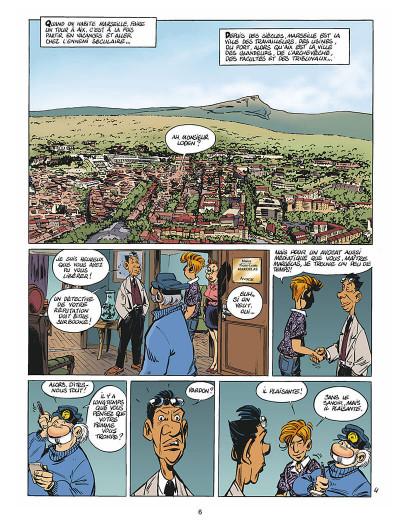 Page 7 léo loden tome 14 - calissons et lumières