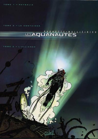 Couverture Les aquanautes - coffret tome 1 à tome 3