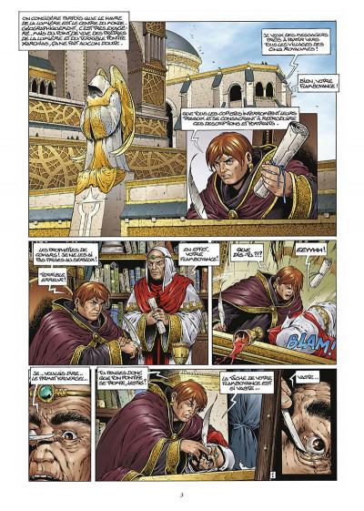 Page 4 les forets d'opale tome 3 - la cicatrice verte