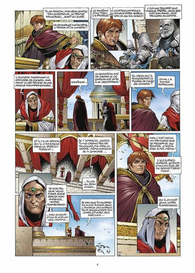 Page 5 les forets d'opale tome 3 - la cicatrice verte