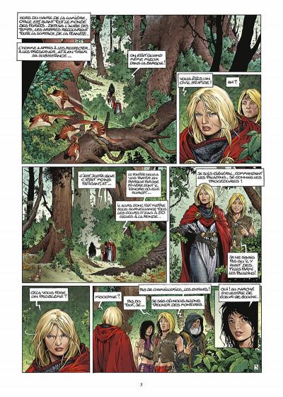 Page 6 les forets d'opale tome 3 - la cicatrice verte