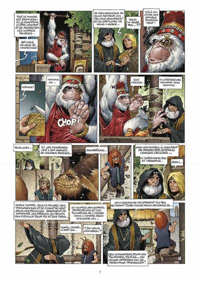 Page 8 les forets d'opale tome 3 - la cicatrice verte