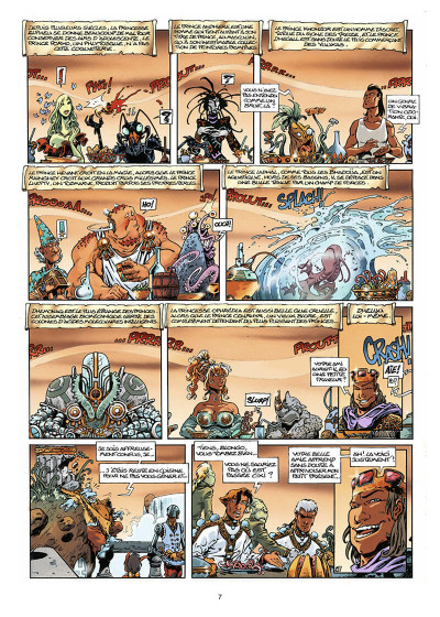 Page 8 lanfeust des étoiles tome 2 - les tours de meirrion