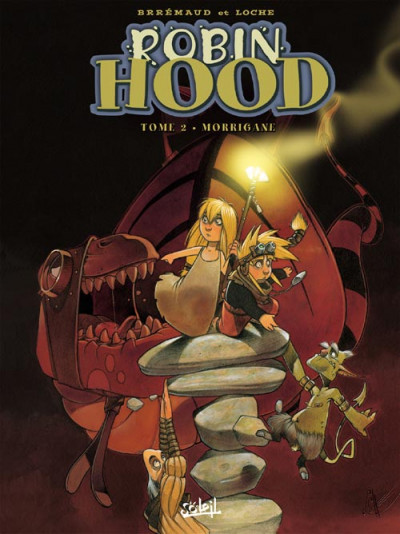 Couverture Robin Hood tome 2 - morrigane