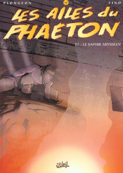 Couverture les ailes du phaéton tome 7 - le saphir abysseen