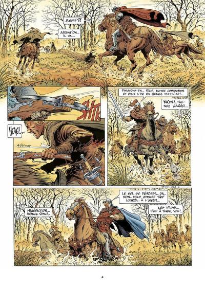 Page 5 légende tome 1 - l'enfant loup