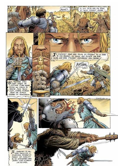 Page 6 légende tome 1 - l'enfant loup