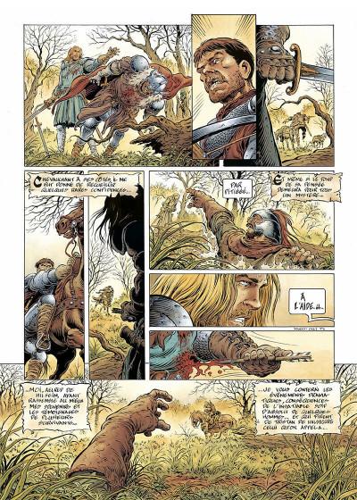 Page 8 légende tome 1 - l'enfant loup