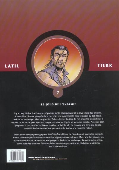 Dos les guerriers tome 7 - le joug de l'infamie
