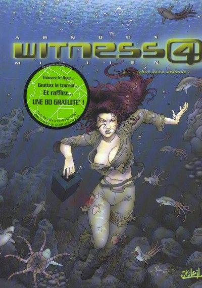 Couverture witness 4 tome 2 - l'icône sans mémoire