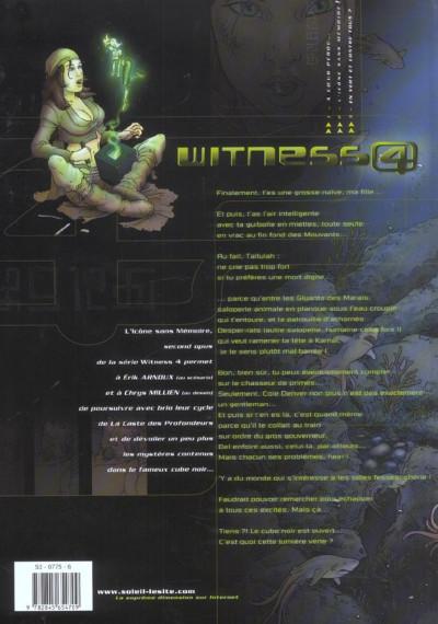 Dos witness 4 tome 2 - l'icône sans mémoire
