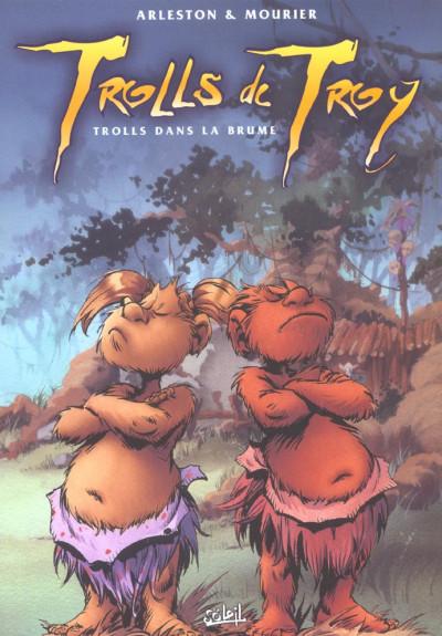 Couverture trolls de troy tome 6 - trolls dans la brume