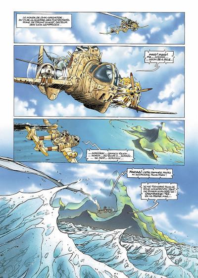 Page 4 Slhoka tome 1 - l'île oubliée