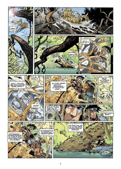 Page 5 Slhoka tome 1 - l'île oubliée