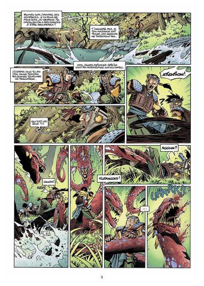 Page 6 Slhoka tome 1 - l'île oubliée