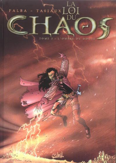 Couverture la loi du chaos tome 2 - l'ombre du doute