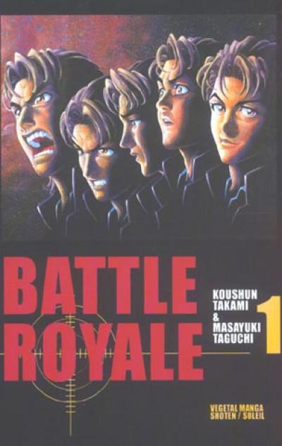 Couverture battle royale tome 1