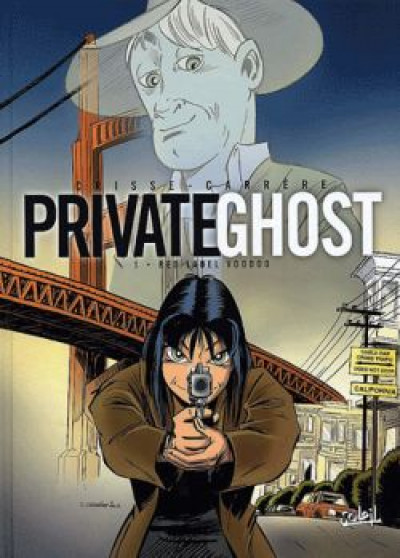 Couverture private ghost tome 1 - red label woodoo