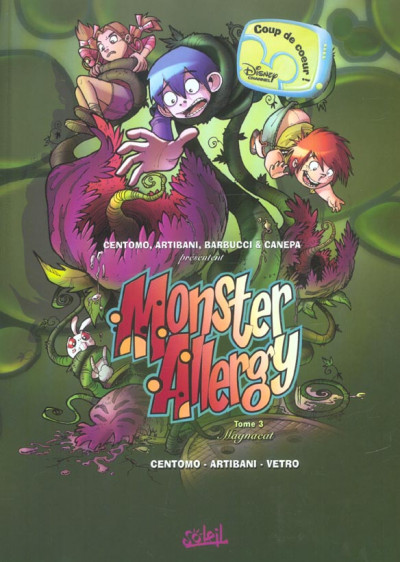 Couverture monster allergy tome 3 - magnacat