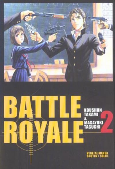 Couverture battle royale tome 2